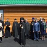 Освящение храма в с. Чуево