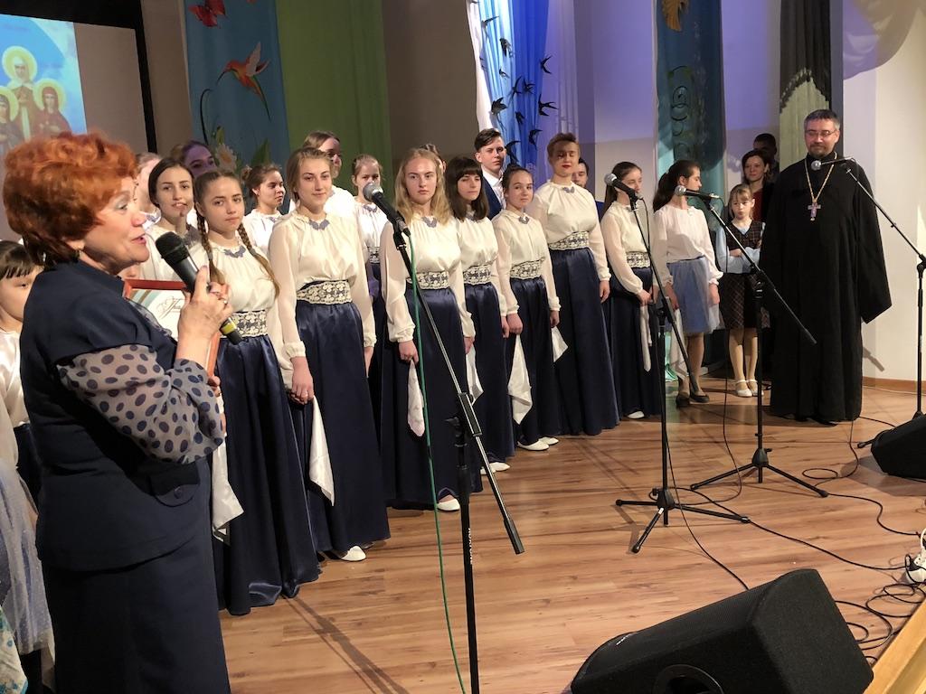 Пасхальный концерт воспитанников Детского православного центра