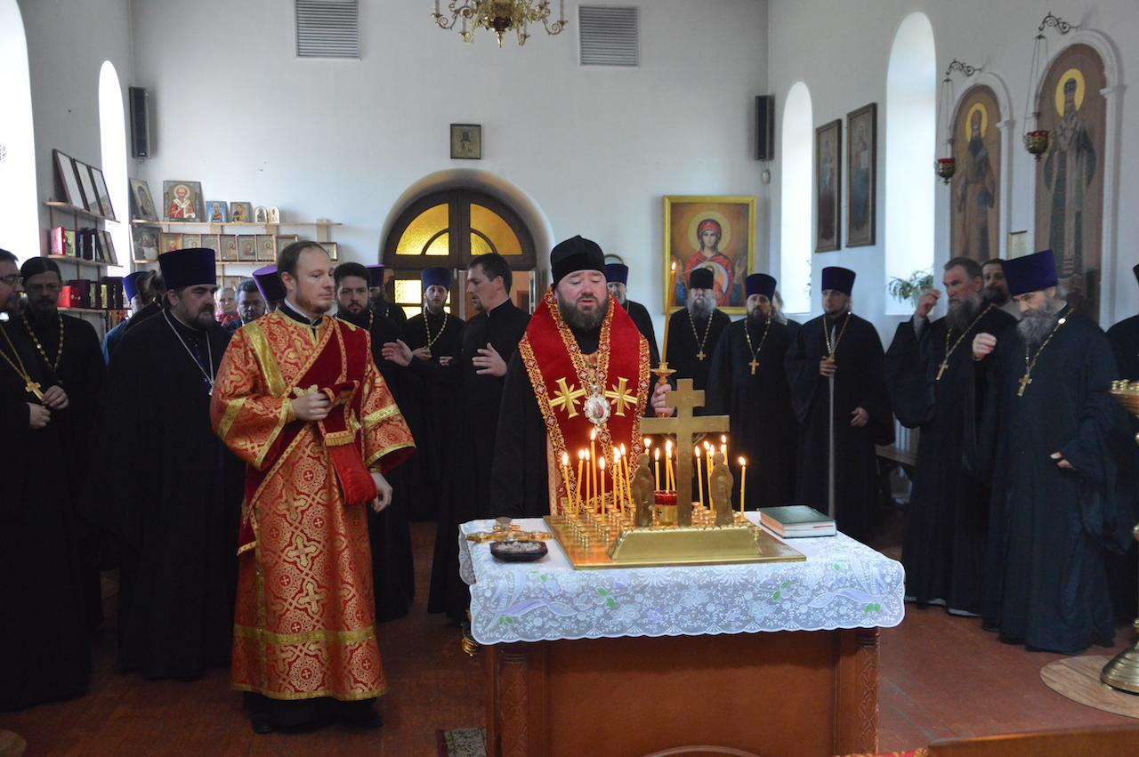 Пастырское совещание духовенства епархии