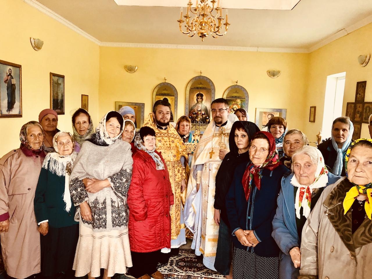 Престольный праздник в селе Богословка