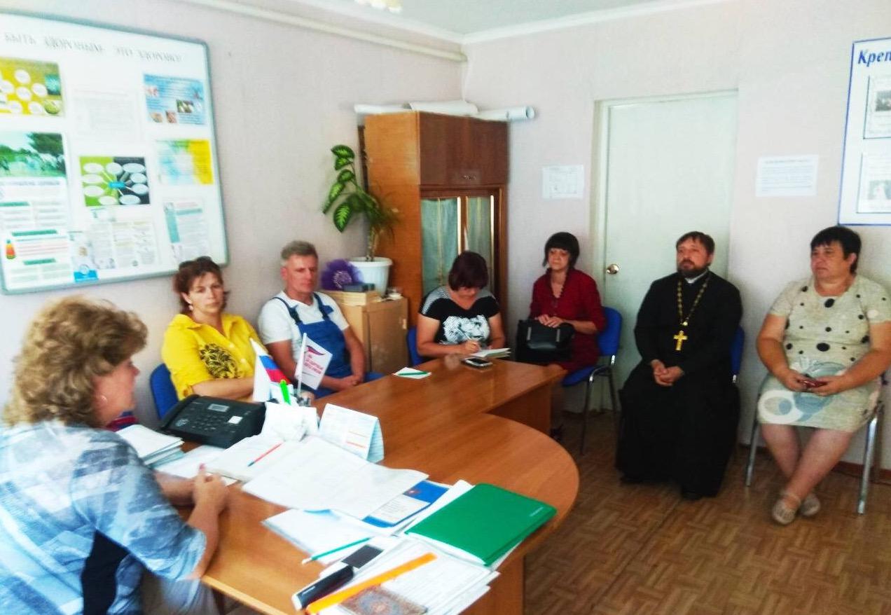 Заседание совета общественности в Коньшино