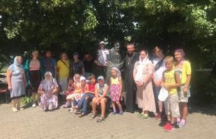 Паломничество воспитанников Детского православного центра в Ракитное
