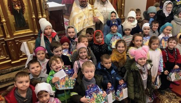 Поздравление воспитанников Детского православного досугового центра