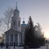 Архиерейская литургия в Свято-Михайловском храме с. Осколец