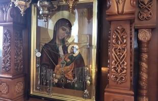Богослужение в день празднования чтимой иконы Божией Матери