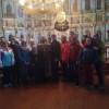 Помощь в уборке Георгиевского храма с. Истобное