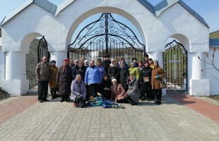 Прихожане Новосёловки посетили Холки