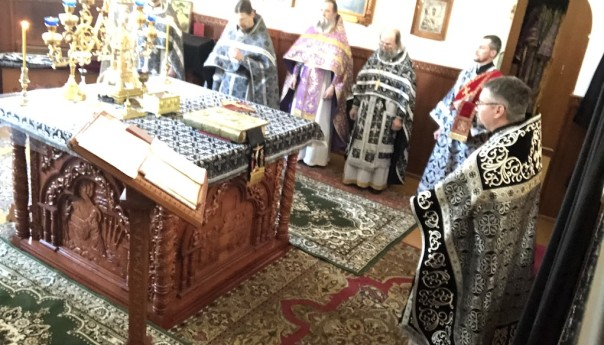 Соборное служение Литургии Преждеосвященных Даров