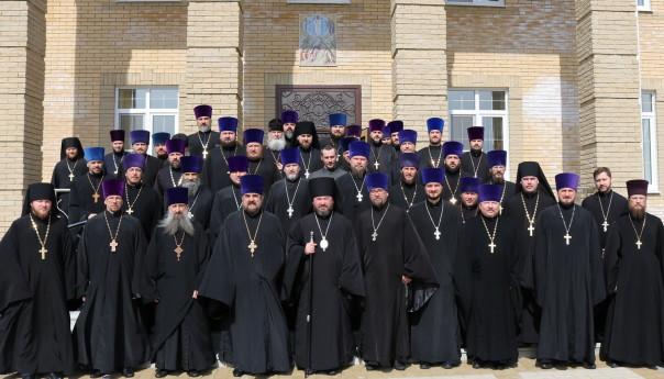 Расширенное заседание Епархиального Совета прошло в Губкине