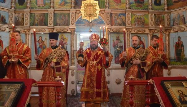 Память великомученика Георгия Победоносца в селе Истобное