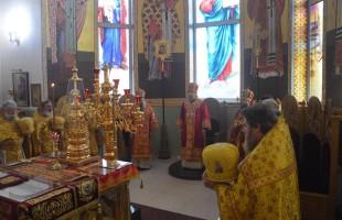 Паломники благочиния посетили торжества празднования Собора новомучеников и исповедников Белгородских