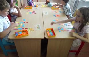 Летние занятия с дошкольниками в Детском православном центре