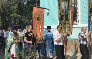 Престольный праздник храма Владимирской иконы Божией Матери