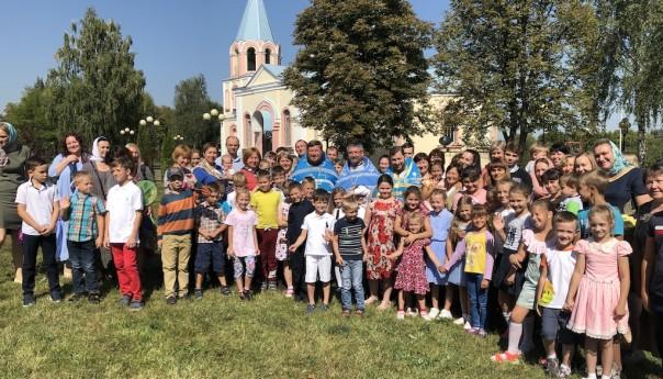 День знаний в Детском православном центре