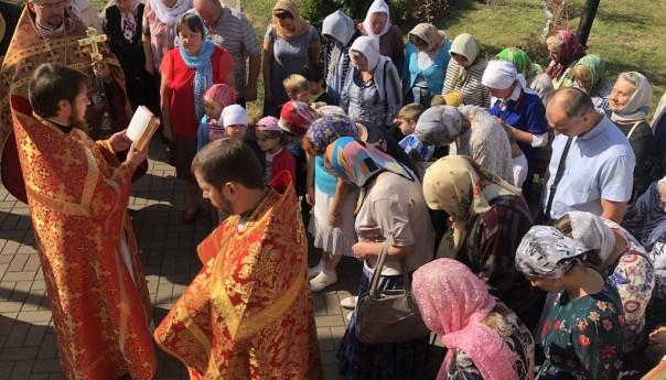 Престольный праздник в день памяти благоверного князя Александра Невского