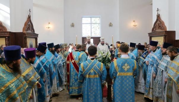 Великое освящение храма Владимирской иконы Божией Матери в хуторе Новосёловка