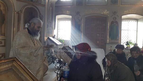 Престольный праздник Свято-Михайловского храма в селе Осколец