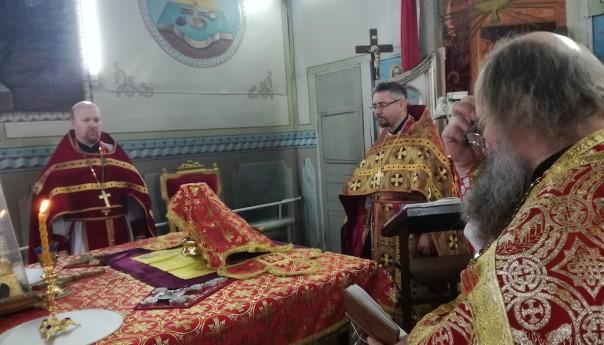 Престольные торжества в селе Истобное