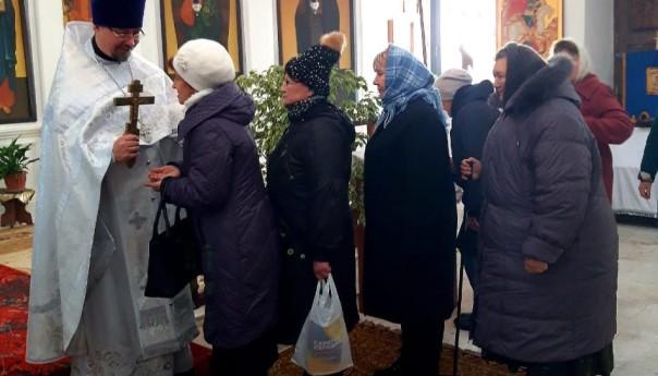 Михайло-Архангельский храм села Архангельское встретил свой престольный праздник