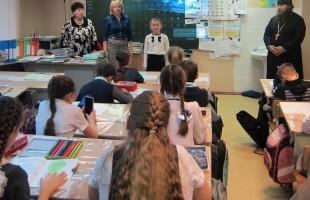 Урок нравственности в Скороднянской школе