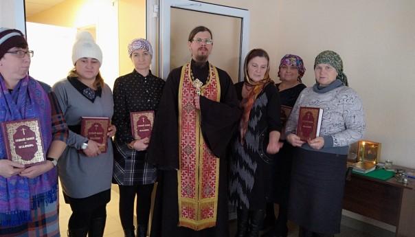 Освящение здания администрации в селе Сергиевка