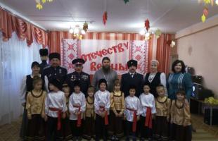 Посвящение юных казачат