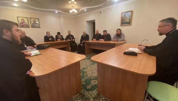Собрание духовенства 2-го Губкинского округа